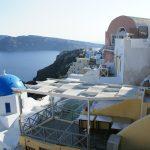 Village of Oia on the Greek Island of Santorini