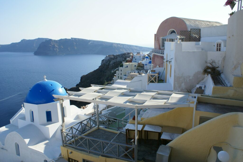 Village of Oia on the Greek Island of Santorini scaled