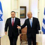 Συνάντηση ΥΠΕΞ Νίκου Δένδια με τον Υπουργό Εξωτερικών του Ισραήλ Israel Katz Αθήνα 31.10.2019 48992919906