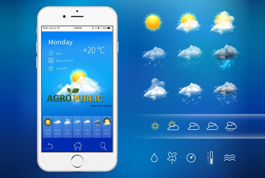 AgroPublic | Weather Forecast Mobile App