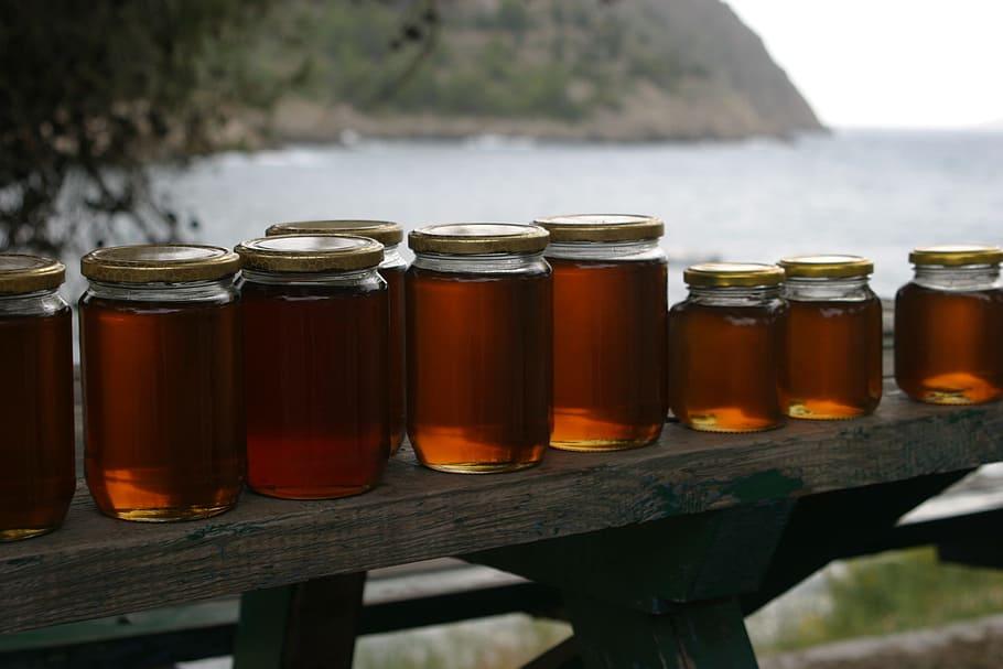 honey jars bench coast