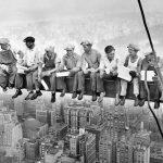 AgroPublic | lunch atop a skyscraper poster wallpaper c.1932