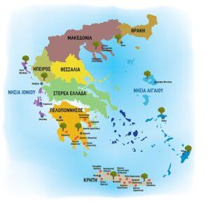 ελαιοκομικός χάρτης